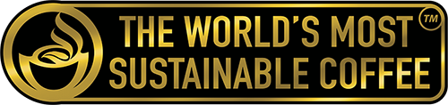 Paradise Mountain Organic Coffee - The World's Most Sustainable Coffee TM logo