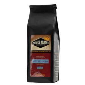 Paradise Mountain Organic Coffee - Angel's Espresso, 454g/1lb bag