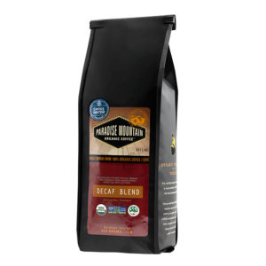 Paradise Mountain Organic Coffee - Decaf Blend, 454g/1lb bag