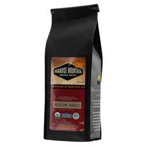 Paradise Mountain Organic Coffee - Medium Roast, 454g/1lb bag
